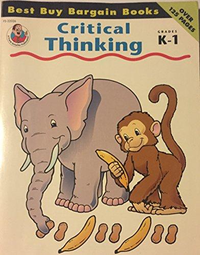 9780867344271: Critical Thinking K-1