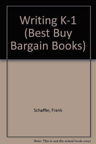 9780867344639: Best Buy Bargain Books: Writing, Grades K-1