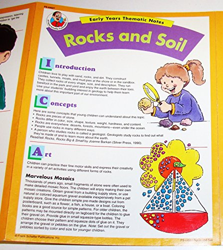 Rocks and soil (Early years thematic notes): Gresko, Marcia