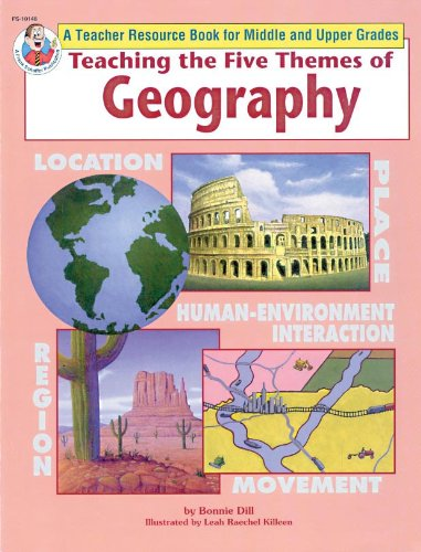 9780867345711: Teaching the Five Themes of Geography, Middle and Upper Grades
