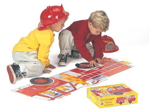 9780867346947: Giant Fire Engine Floor Puzzle