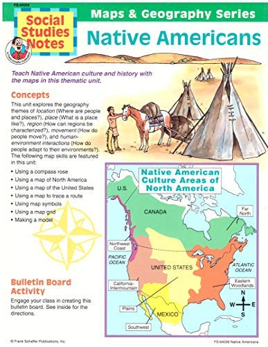 Native Americans (Maps & geography series): Schell, Karen D