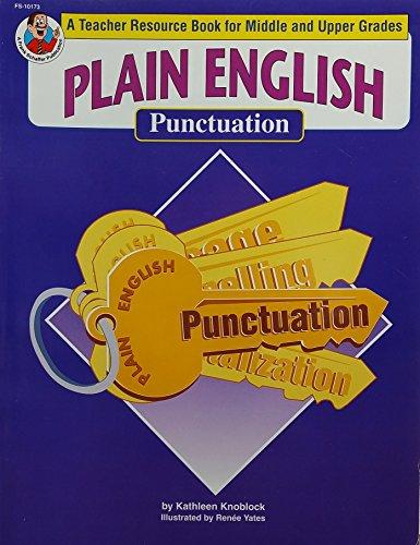 Plain English Punctuation: Knoblock, Kathleen