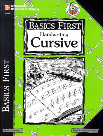 9780867349955: Basics First Handwriting Cursive
