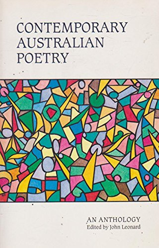 9780867701135: Contemporary Australian Poetry: An Anthology