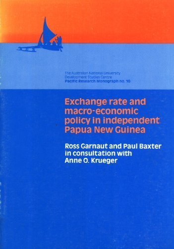 9780867844979: Exchange Rate and Macro-Economic Policy in Independent Papua New Guinea (Pacific Research Monograph, No. 10)
