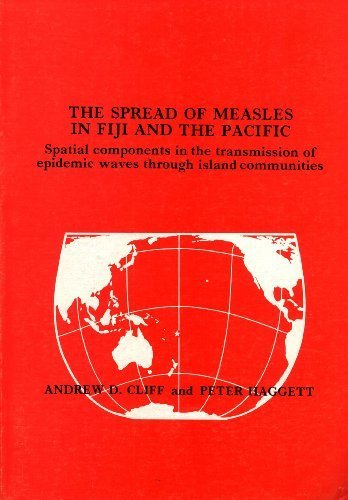 9780867847338: The Spread of Measles in Fiji and the Pacific: Spatial Components in the Transmission of Epidemic Waves through Island Communities