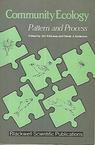 9780867932720: Community Ecology: Pattern and Process