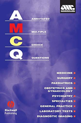 9780867933772: Annotated Multiple Choice Questions: Australian Medical Council