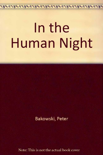 9780868065397: In the human night (Contemporary Australian poets)