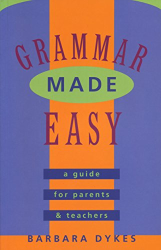 9780868066165: Grammar Made Easy: a Guide for Parents and Teachers