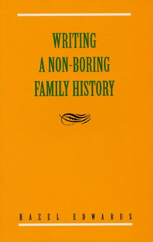 9780868067001: Writing a 'Non-Boring' Family History