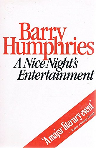 9780868190471: A Nice Night's Entertainment: Sketches and Monologues, 1956-81