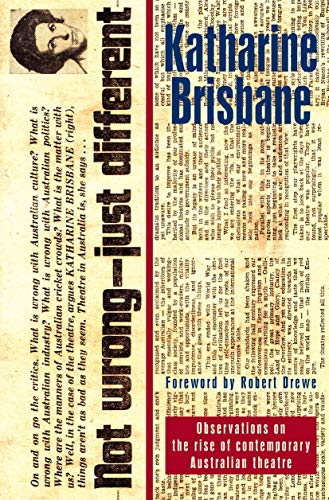 Not Wrong, Just Different: Brisbane, Katharine