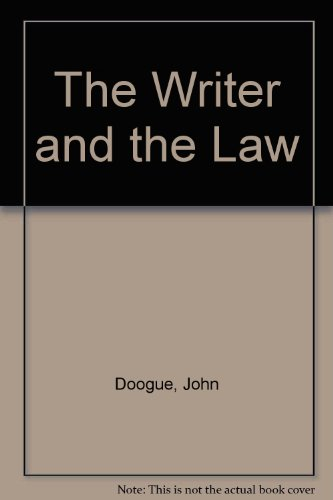 The Writer And The Law: John Doogue