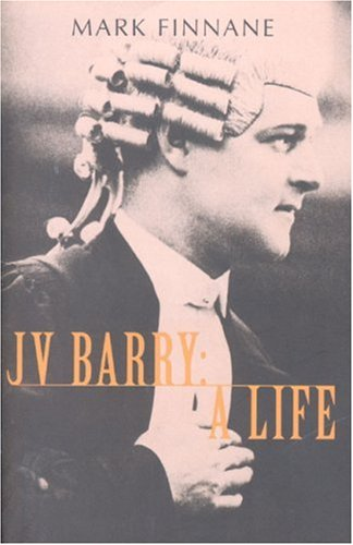 9780868408453: JV Barry: A Life