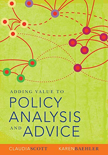 9780868408590: Adding Value to Policy Analysis and Advice