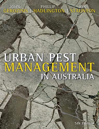9780868408941: Urban Pest Management in Australia