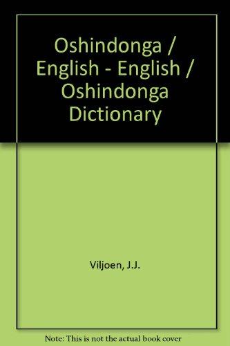Oshindonga / English - English / Oshindonga: Viljoen, J.J.; Amakali,