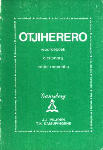 9780868481951: OtjiHerero Woordeboek, Dictionary, Embo Romambo (English and Afrikaans Edition)