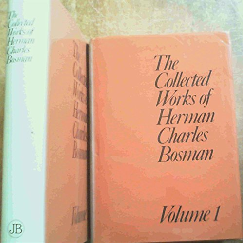 9780868500294: The collected works of Herman Charles Bosman