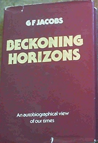 Beckoning horizons: Jacobs, Gideon Francois