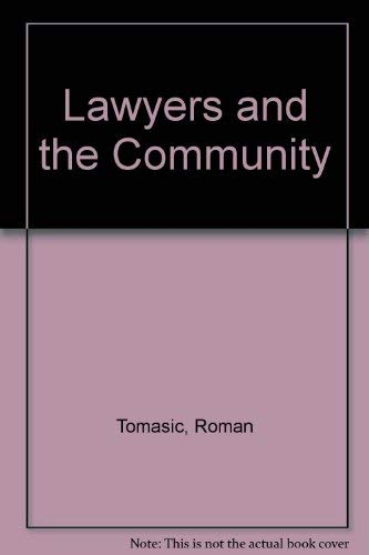 9780868612409: Lawyers and the community (Law in society series)