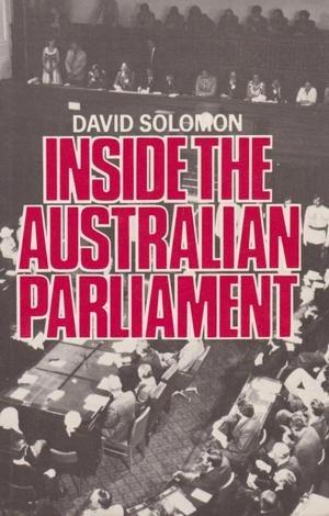 9780868613529: Inside the Australian Parl' Pb