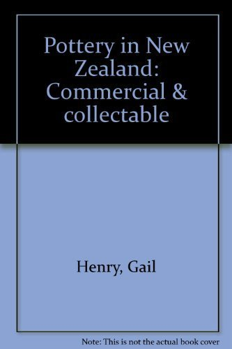 9780868630618: Pottery in New Zealand: Commercial & collectable