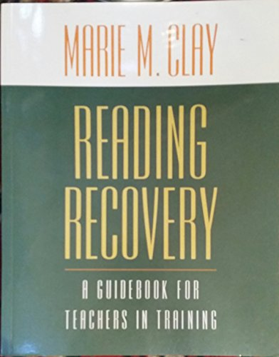 9780868632896: Reading Recovery: A Guidebook for Teachers in Training