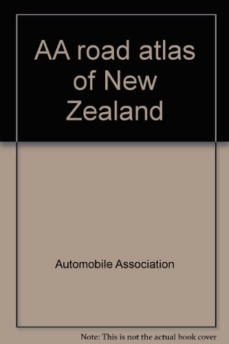 9780868661032: AA road atlas of New Zealand