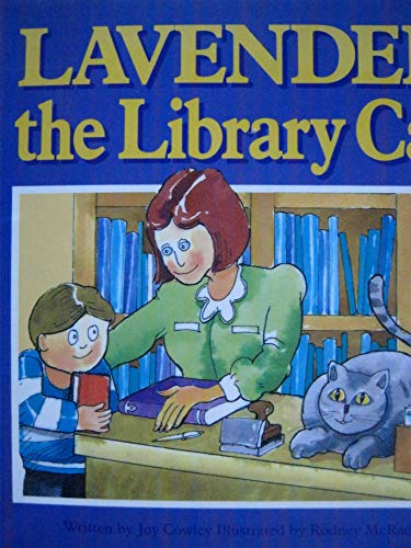Lavender the Library Cat, a Read-along Book