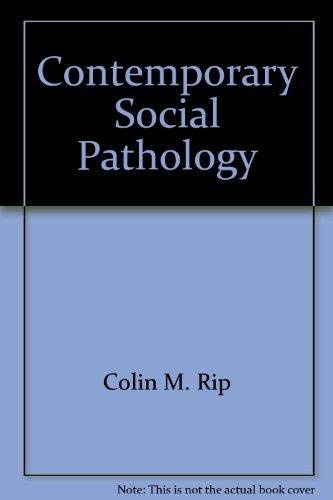 9780868742748: Contemporary Social Pathology