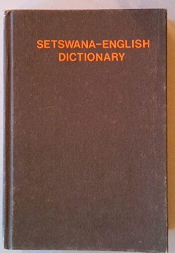 9780868810515: Setswana dictionary: Setswana-English and English-Setswana