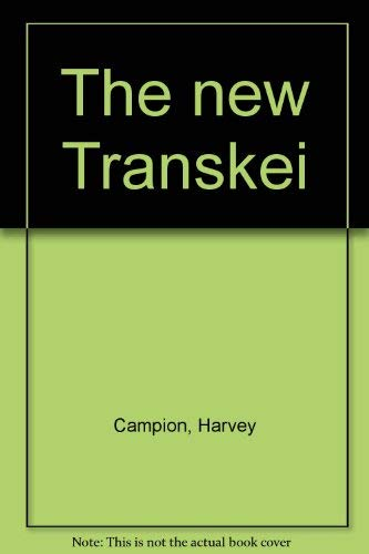 9780868840147: The new Transkei