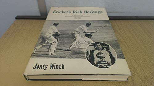 9780869202562: Cricket's Rich Heritage: A History of the Rhodesia and Zimbabwe National Sides