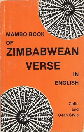 9780869223673: Mambo book of Zimbabwean verse in English (Mambo writers series. English Section)