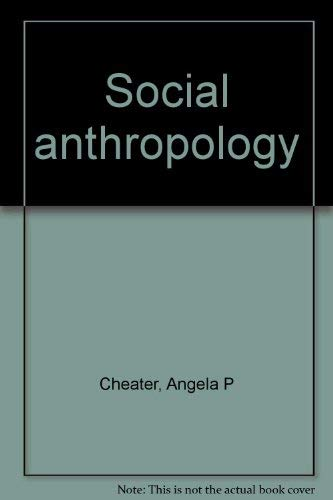 9780869224151: Social anthropology
