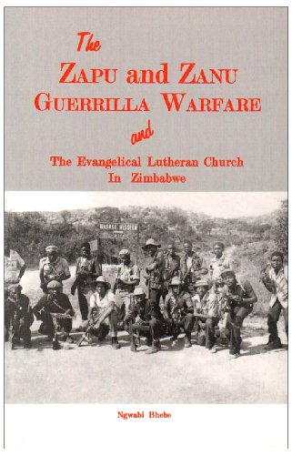 9780869227398: The Zapu and Zanu Guerilla Warfare (Studia Missionalia Upsaliensia)