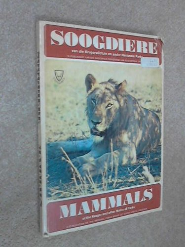 Mammals of the Kruger and Other National: Multiple Authors. H.