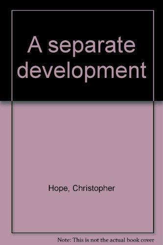 9780869751794: A separate development