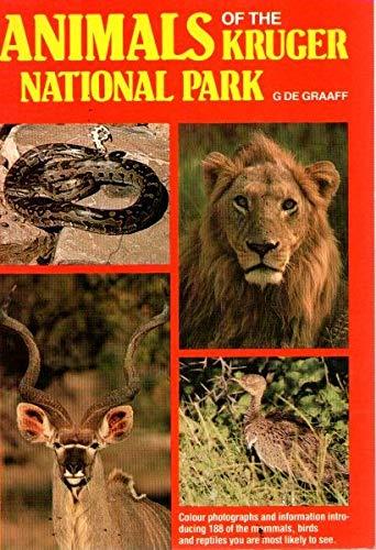 Animals of the Kruger National Park: Graaff, G. De