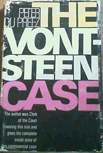 9780869780404: The Vontsteen case