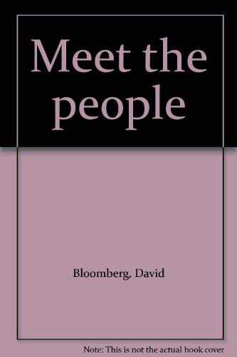 Meet The People: Bloomberg, David *SIGNED by author*