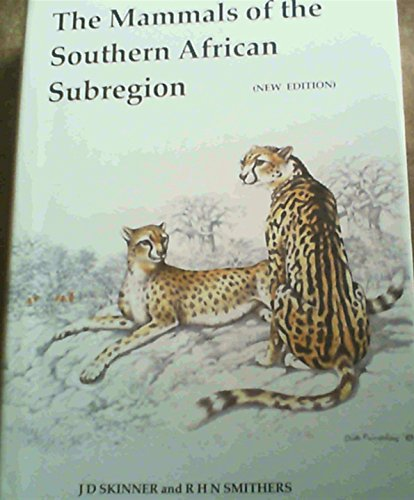 9780869798027: The Mammals of the South African Sub-region