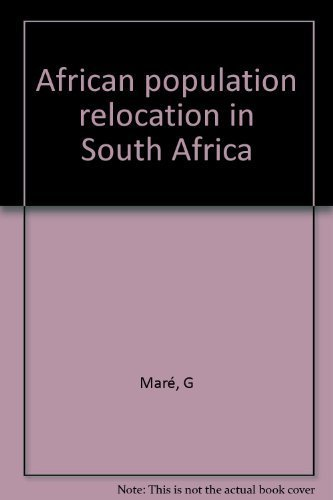 9780869821862: African population relocation in South Africa