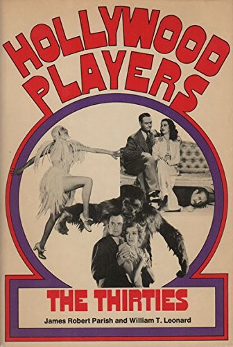9780870003653: Hollywood Players, the Thirties