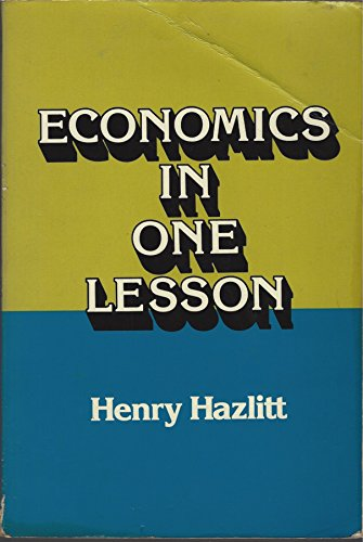 9780870004278: Economics in one lesson