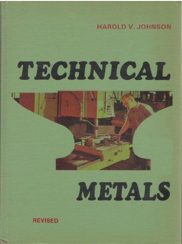 Technical Metals: Harold V. Johnson