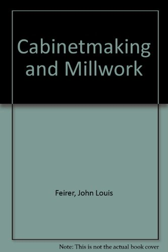 9780870021763: Cabinetmaking and Millwork